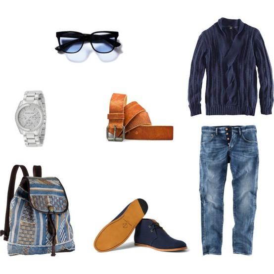 Voici une inspiration de tenue, simple et stylée!