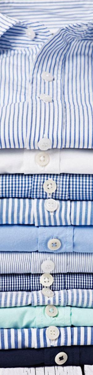Chemise-habillée-bleus