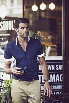 Look,été,chemise,manches,courtes,4 Pour un beau look classique