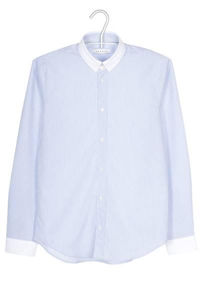 style-été-chemise-rayée-bleue